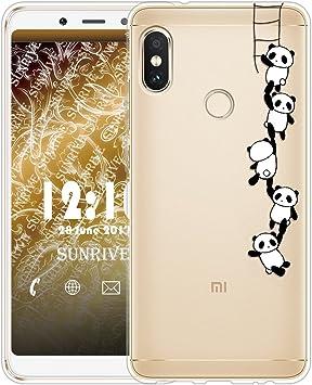 Sunrive Funda para Xiaomi Redmi Note 5, Silicona Slim Fit Gel ...