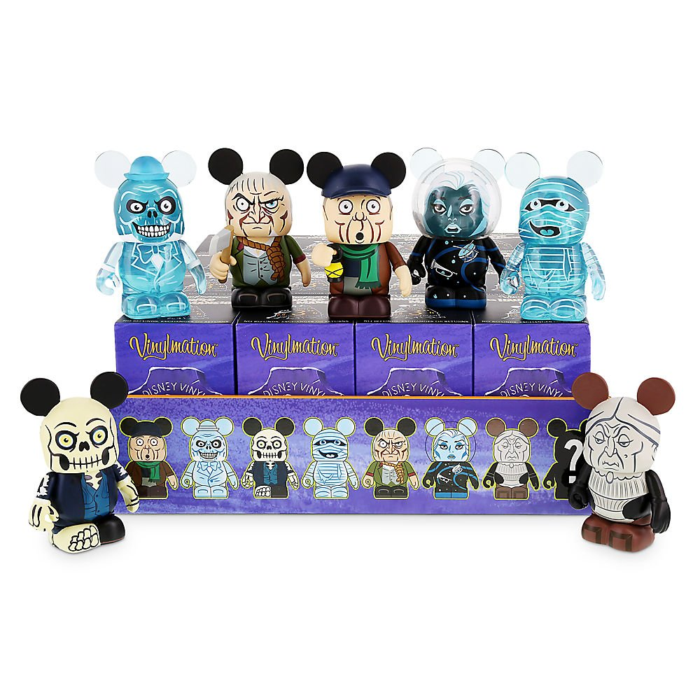 Haunted Mansion Vinylmation Complete Guaranteed Image 1
