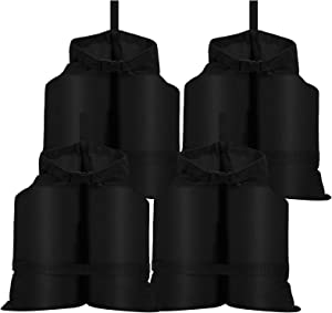 Coindivi Sand Bags Canopy Weights Set of 4, Sandbags for Canopy Tent, Gazebo, Sand Bags Heavy Duty Outdoor, Patio Furniture Weights Bags with Strong Industrial Grade Bearing (2 Buckles Design)