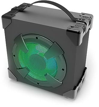 Polaroid pbt3016bk inalámbrico Bluetooth Altavoz LED con 6 modos de luz, portátil y de batería: Amazon.es: Electrónica