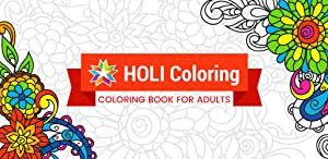Adult Coloring Book from ITSS Games