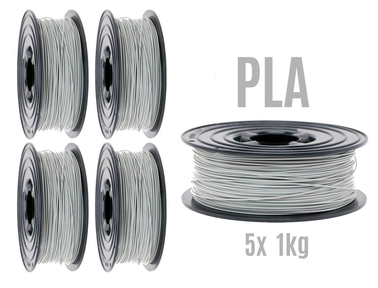 3kg // 1x 1kg Schwarz//Rot//Wei/ß OWL-Filament Premium 3D PLA Filament 1kg 1,75mm Made in Germany