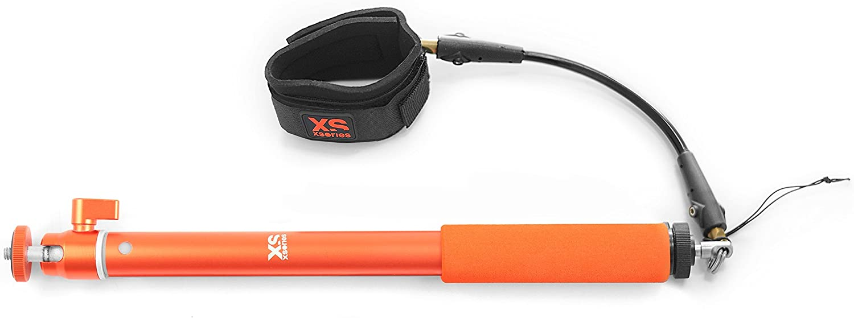 Orange XSories Big U-Shot 37-inch Waterproof Camera Pole with Wrist Tether