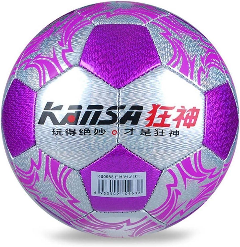 Kansa antideslizante cosido a máquina balón de fútbol para los ...