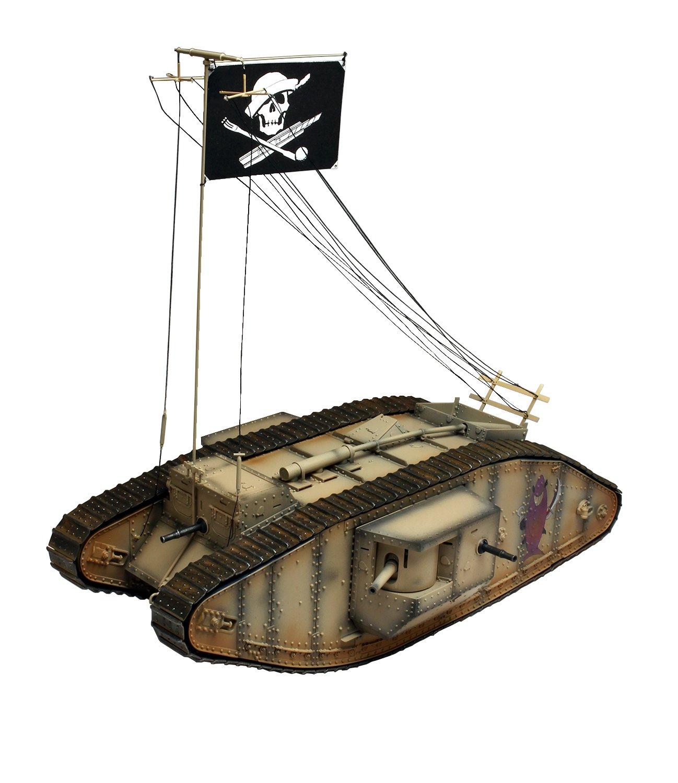 Platz girls & Panzer final chapter Mk.4 tanks, Oarai female school shark's team 1/35 scale plastic model GP-40