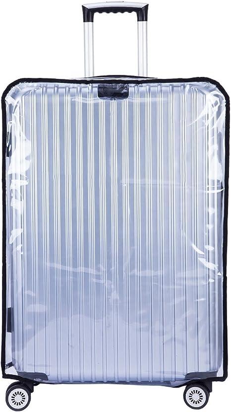 54cm L x 34cm W x 75cm H CSTOM Grande Taille Transparent PVC Couvertures de Voyage Housse Protection de Valise 30