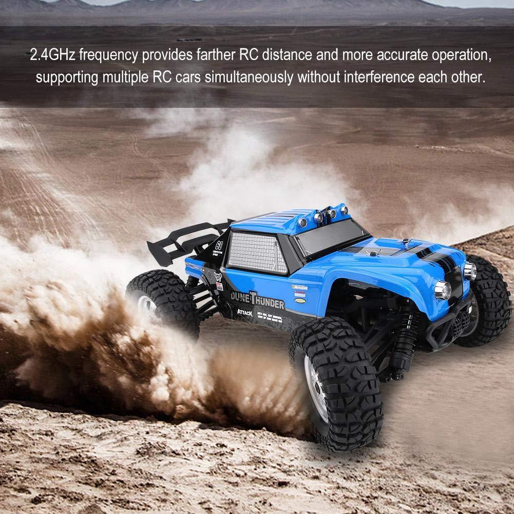 Wal front Crawler Off Road Road Road Vehicle Spielzeugfernsteuerungsauto Frequency Frequenz 2.4GHz , Anti-Rutsch-Rad-Design(Blau) b0d6ed