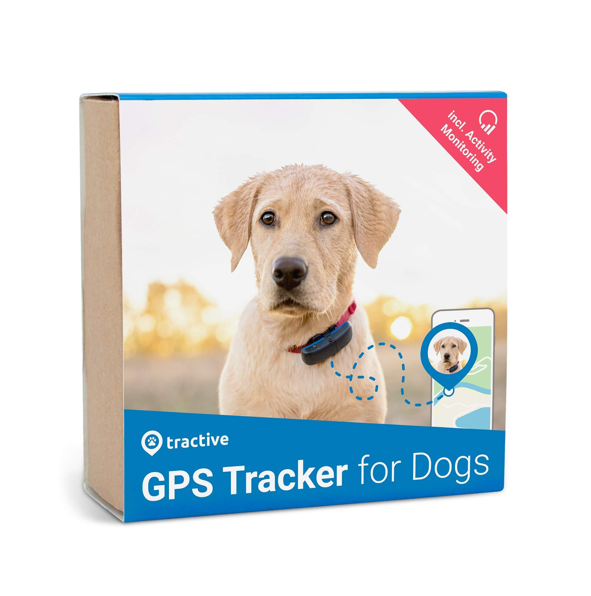 Tractive Localizador GPS para Perros y Gatos con Seguimiento de Actividad - Dispositivo Ligero y Resistente al Agua product image