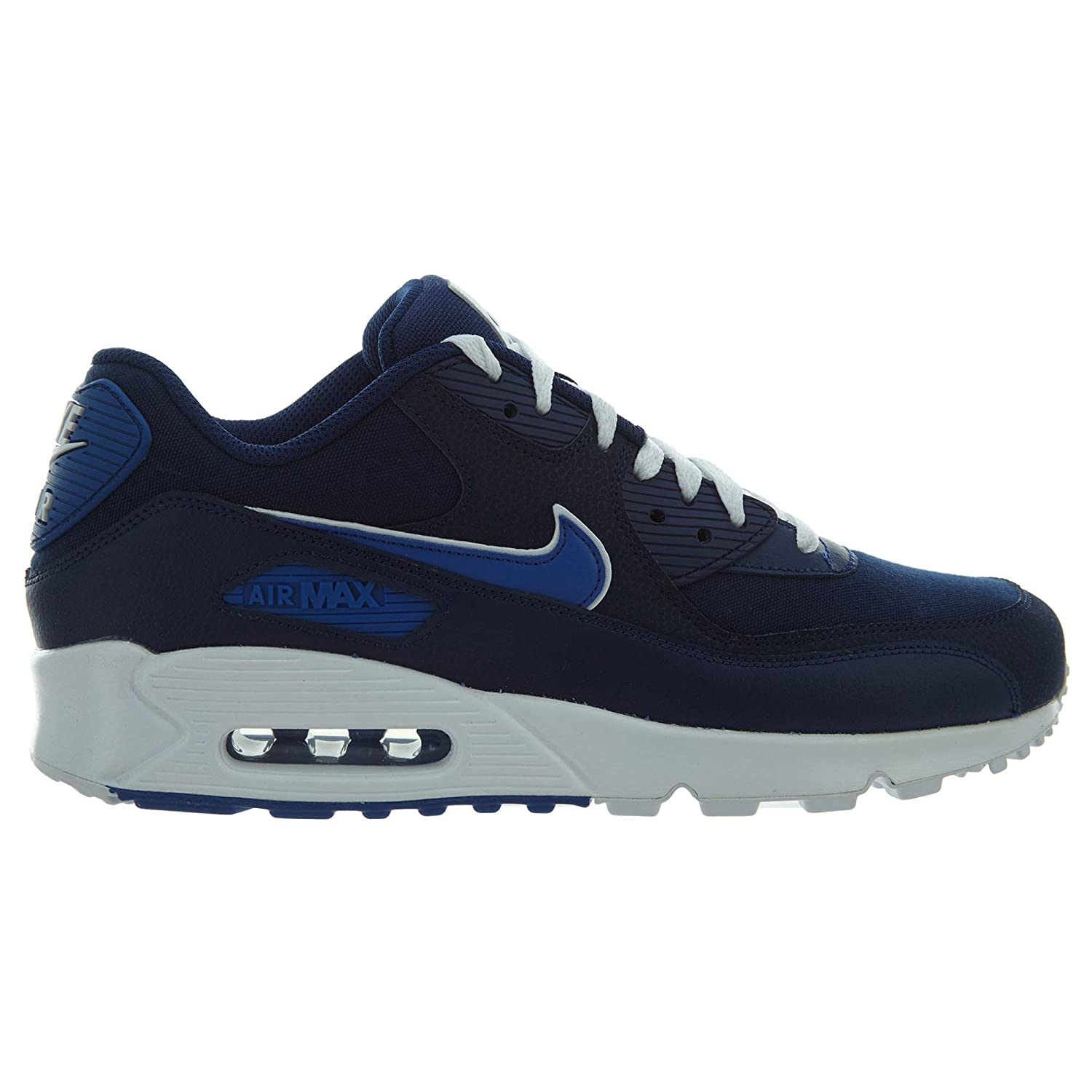100% authentic 7146e 74f4c Nike Men s s Air Max 90 Essential Gymnastics Shoes Blue Void Game Royal  White, 12 UK  Amazon.co.uk  Shoes   Bags