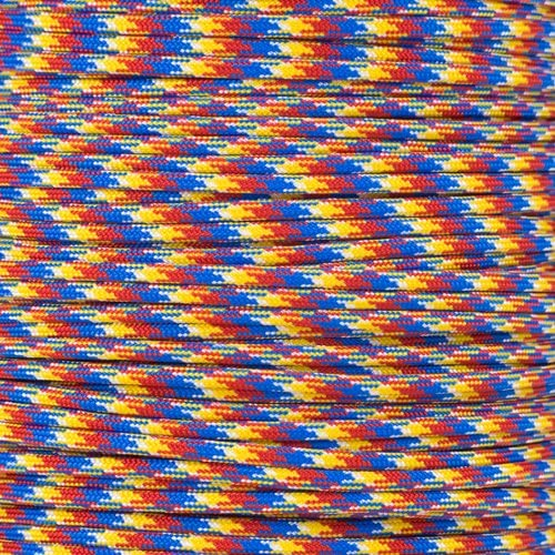550LB 7-Strand Twisted Inner Core Parachute Cord Over 250+ Color Choices 550 Paracord ParacordPlanet Hanks /& Spool Multiple Length Options