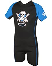 TWF Kids Pirate Shortie Wetsuit