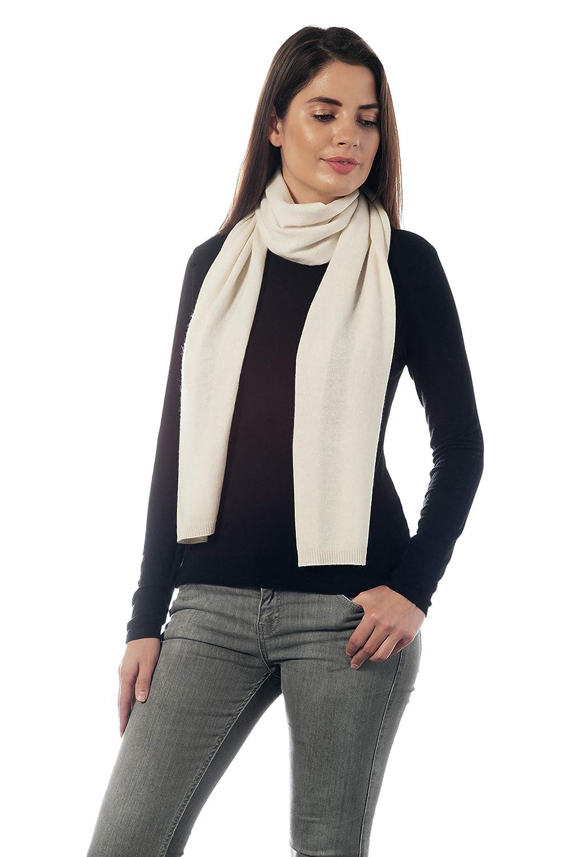 Adorawool Fine Kaschmir Merino Schal Luxuri/öse Wollmischung Leichte weiche warme und stilvolle Winter Schals f/ür Frauen und mich
