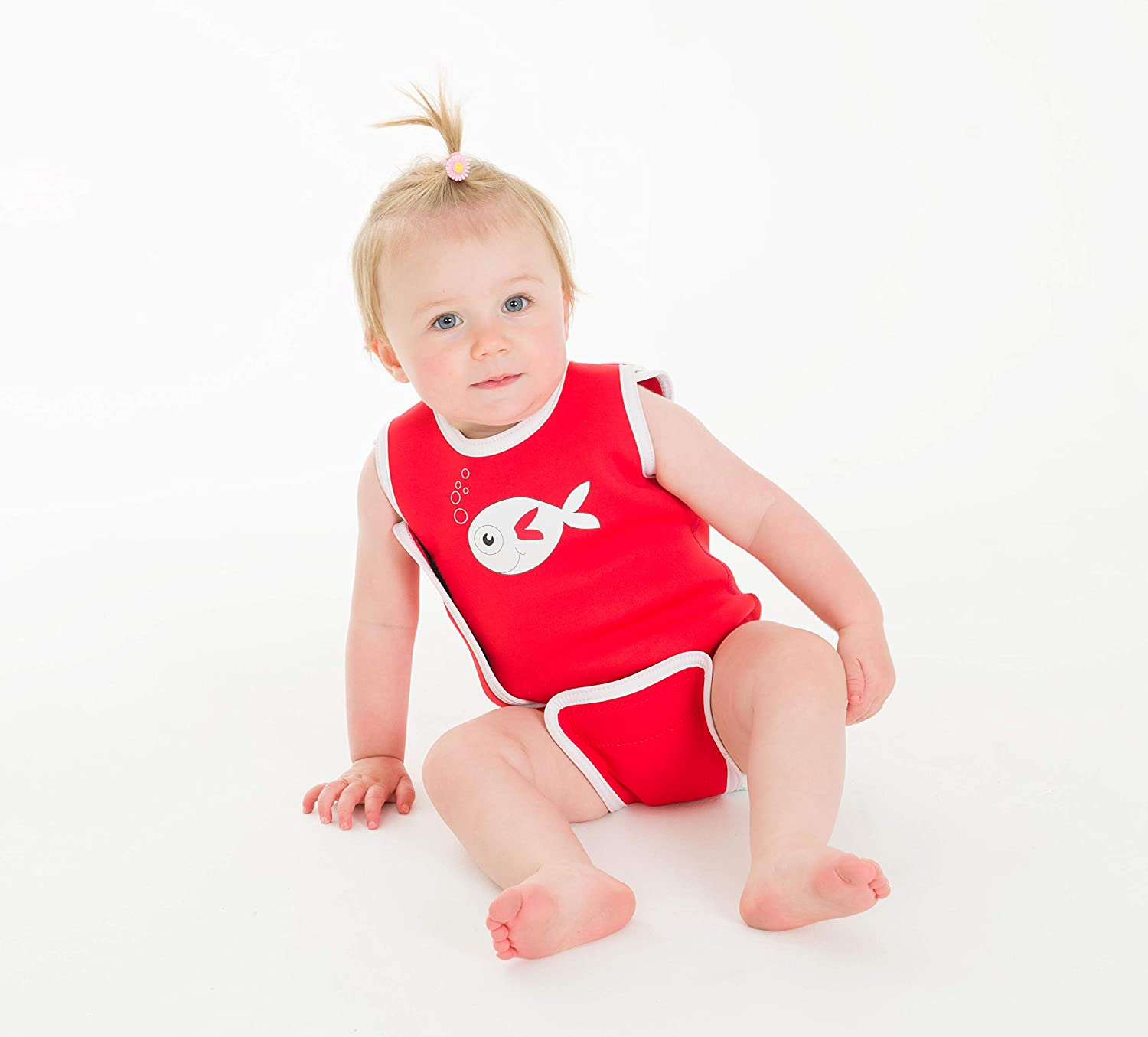 Power of Flowers, 12-24mths//13-16 kgs SwimBest Baby Wetsuit /& Nappy Set