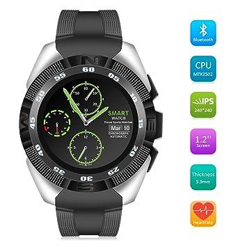 Smart Watch QIMAOO G5 Reloj Inteligente Bluetooth 4.0 Fitness Tracker IP67 Reloj Deporte Inteligente,Monitor de Frecuencia Cardíaca,Podómetro ,Monitor de ...