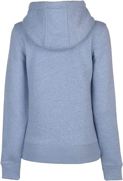 SoulCal Signature Zip Hoodie Ladies Drawstring Hooded Top Outerwear