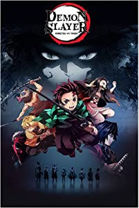 Demon Slayer Poster Wall Art Frameable Anime Posters for Walls for Boys Room Decor Japanese Anime Fans' Gifts, No Frame (16
