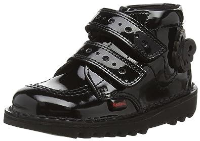 a53ab73dab39a Kickers Unisex Baby Kick Flutter Infants Ankle Boots, Black (Black), 8.5  Child