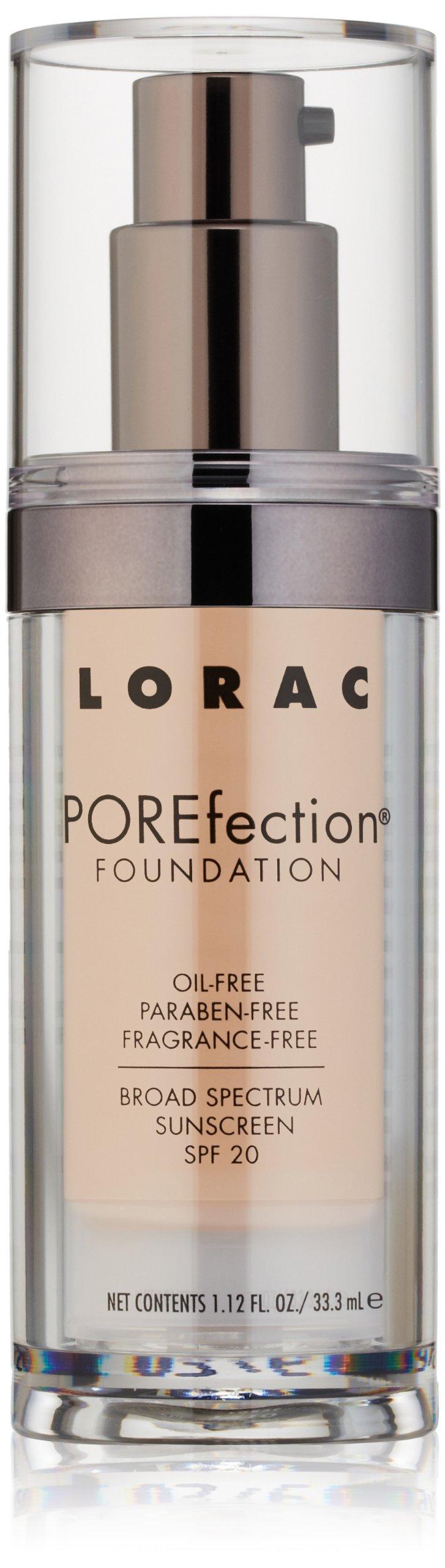 LORAC POREfection Foundation, PR4-Light Medium, 1.12 fl. oz.