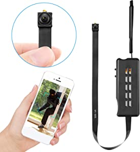 Facamword Spy Camera Wireless Hidden Cameras DIY Module Nanny Cam WiFi Covert Cam for Home Security Motion Detection Alarm & Record Live Streaming via Android iOS APP