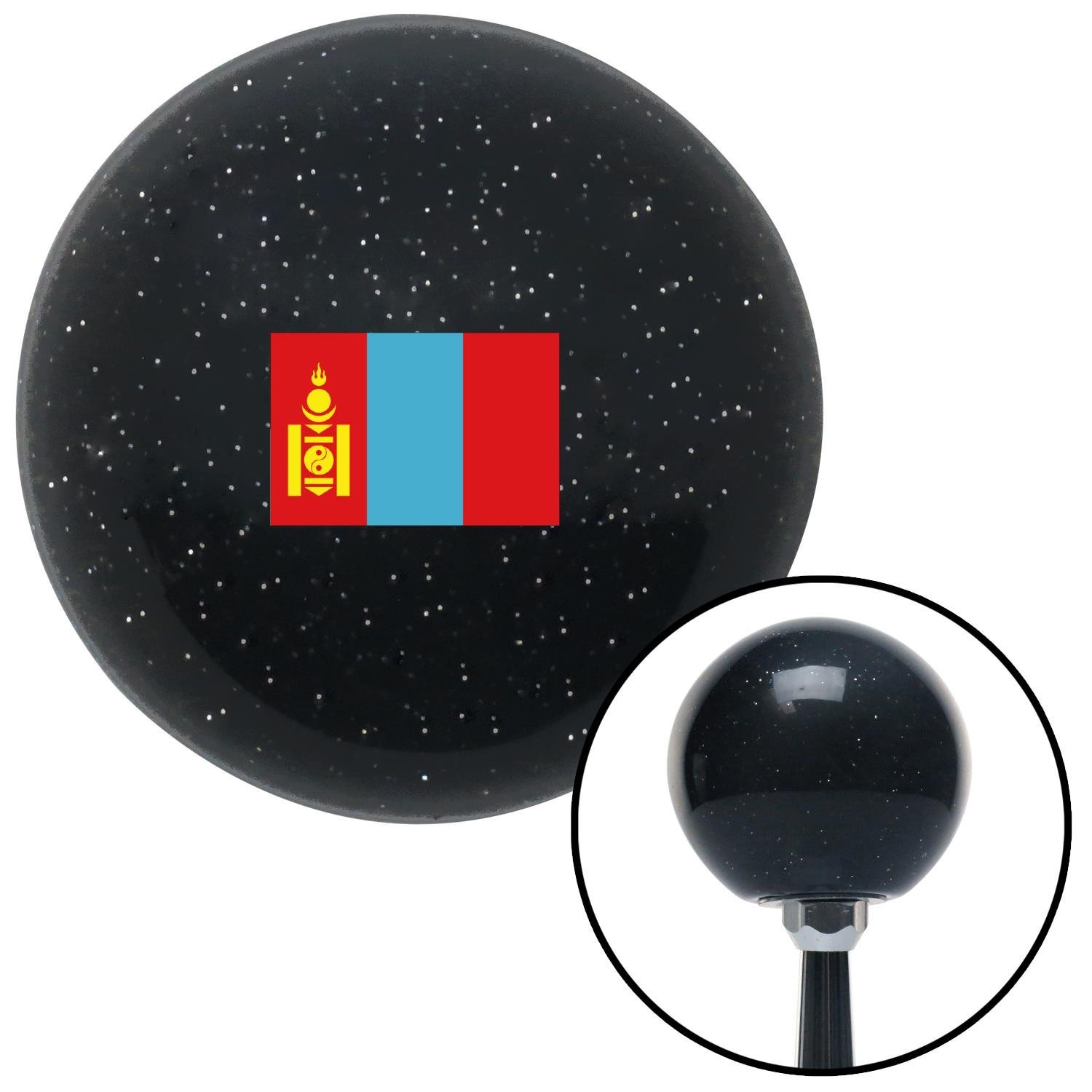 American Shifter 306193 Shift Knob Mongolia Black Metal Flake with M16 x 1.5 Insert