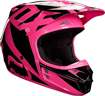 Casco Mx Fox 2018 V1 Race Rosado (Xl , Rosado)