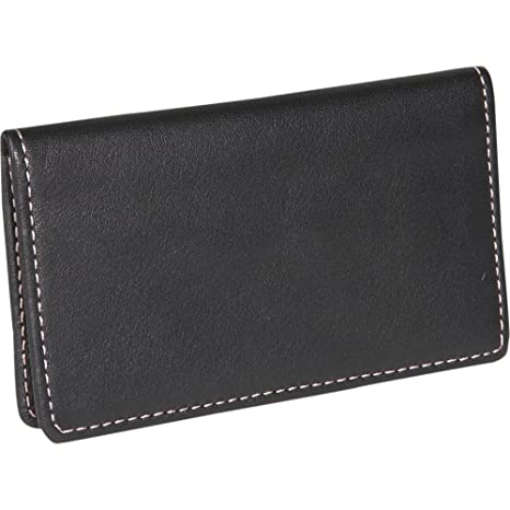 Royce Leather Business Card Case Leather Black Black At Amazon