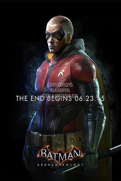 Batman BAT053 - Póster Arkham Knight Robin PS4 Xbox One, Papel, 16 ...