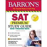 SAT Premium Study Guide with 7 Practice Tests (Barron's Test Prep)