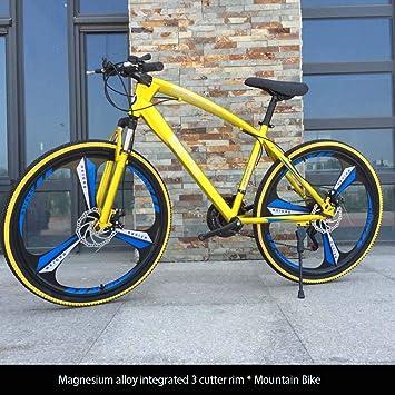 AISHFP Bicicleta de montaña para Adultos de 26 Pulgadas ...