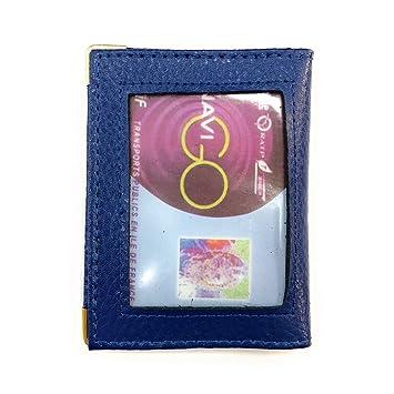 Carte Bleue Transparente.Loluna Porte Carte Simple 1 A 2 Carte Transparent Compact En Cuir