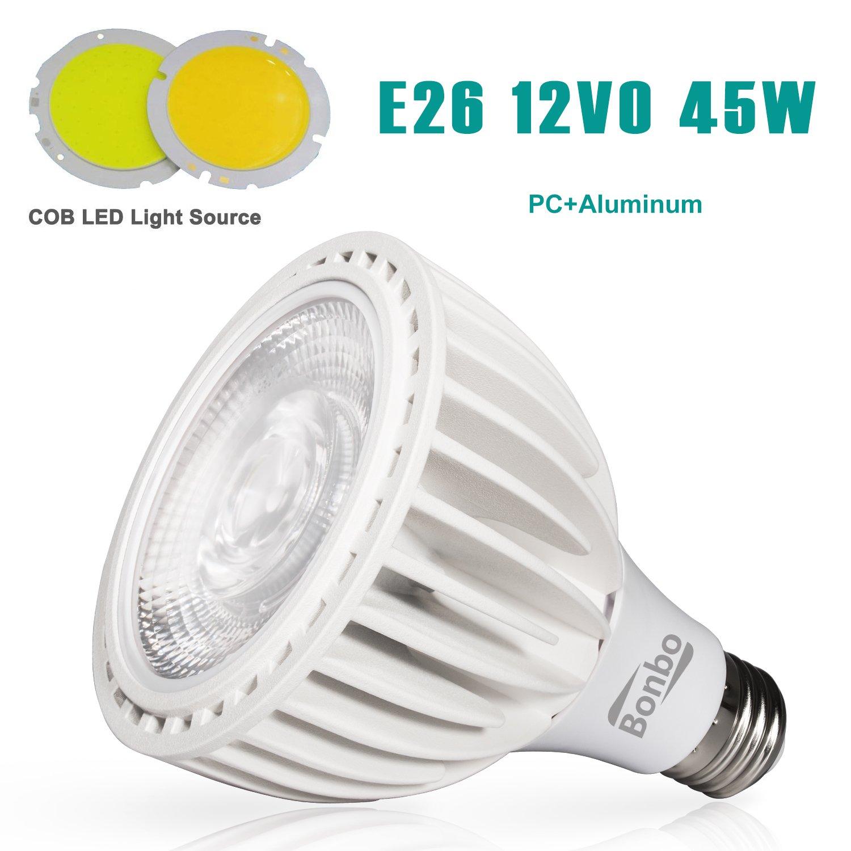 Bonbo Led Pool Bulb White Light 120v 45watt 6000k Circuit Board Lightings Daylight New Version Cob Technology E26 Base 300 500w Traditional Replacement