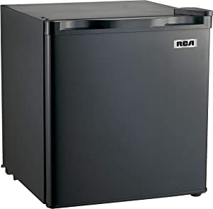 RCA RFR115-BLACK 1.7 Cubic Foot Fridge, Black