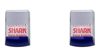 2 x Solar para el cartílago/señuelo de alarmas para cajas de ...
