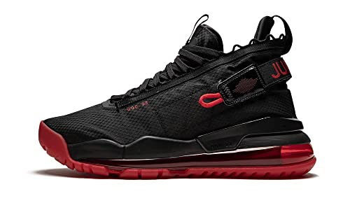 Jordan Mens Nike Proto Max 720 Basketball Shoes Black University Red