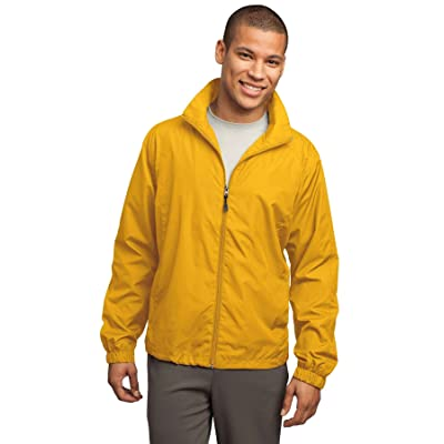 Sport-Tek - Full-Zip Wind Jacket. - Gold - 4XL