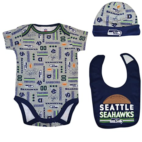 295f1bddd Official National Football League Fan Shop Authentic NFL Baby 3-pc Body  Suit Onesie,
