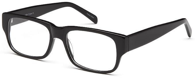 Amazon.com: Mens Wayfarer Glasses Frames Black Prescription ...