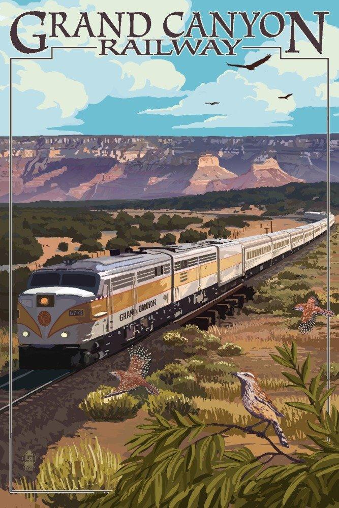 Grand Canyon鉄道、アリゾナ州 – Meadow 36 x 54 Giclee Print LANT-49121-36x54 B017E9T5AU  36 x 54 Giclee Print