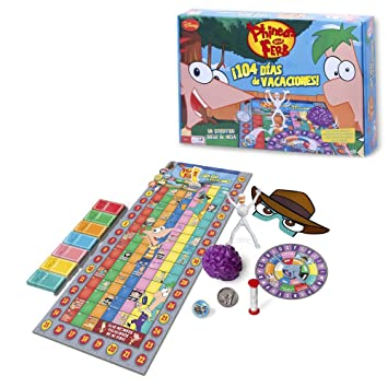 Phineas Y Ferb Phineas Y Ferb 104 Dias De Vacaciones Juego De