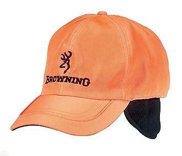 Browning Polar Gorra, Unisex Adulto, Naranja, Talla Única: Amazon.es: Deportes y aire libre