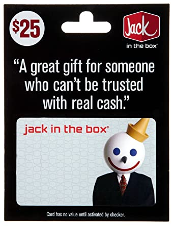Amazon.com: Jack in the Box Gift Card $25: Gift Cards