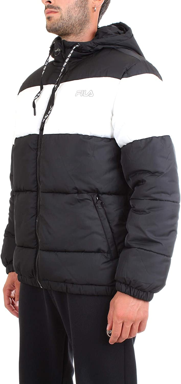 Fila Jacken Herren Floyd Puff Hood Jacket Schwarz 002 Black