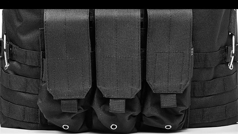 YANODA Gilet Airsoft Militaire Gilet Tactique Molle Combat Assaut Plaque Transporteur Gilet Tactique CS V/êtements De Plein Air Chasse Gilet Gilet