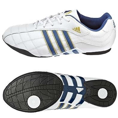 Adidas Kundo II - Zapatillas de cuero para hombre, color blanco, talla 41.5: Amazon.es: Zapatos y complementos
