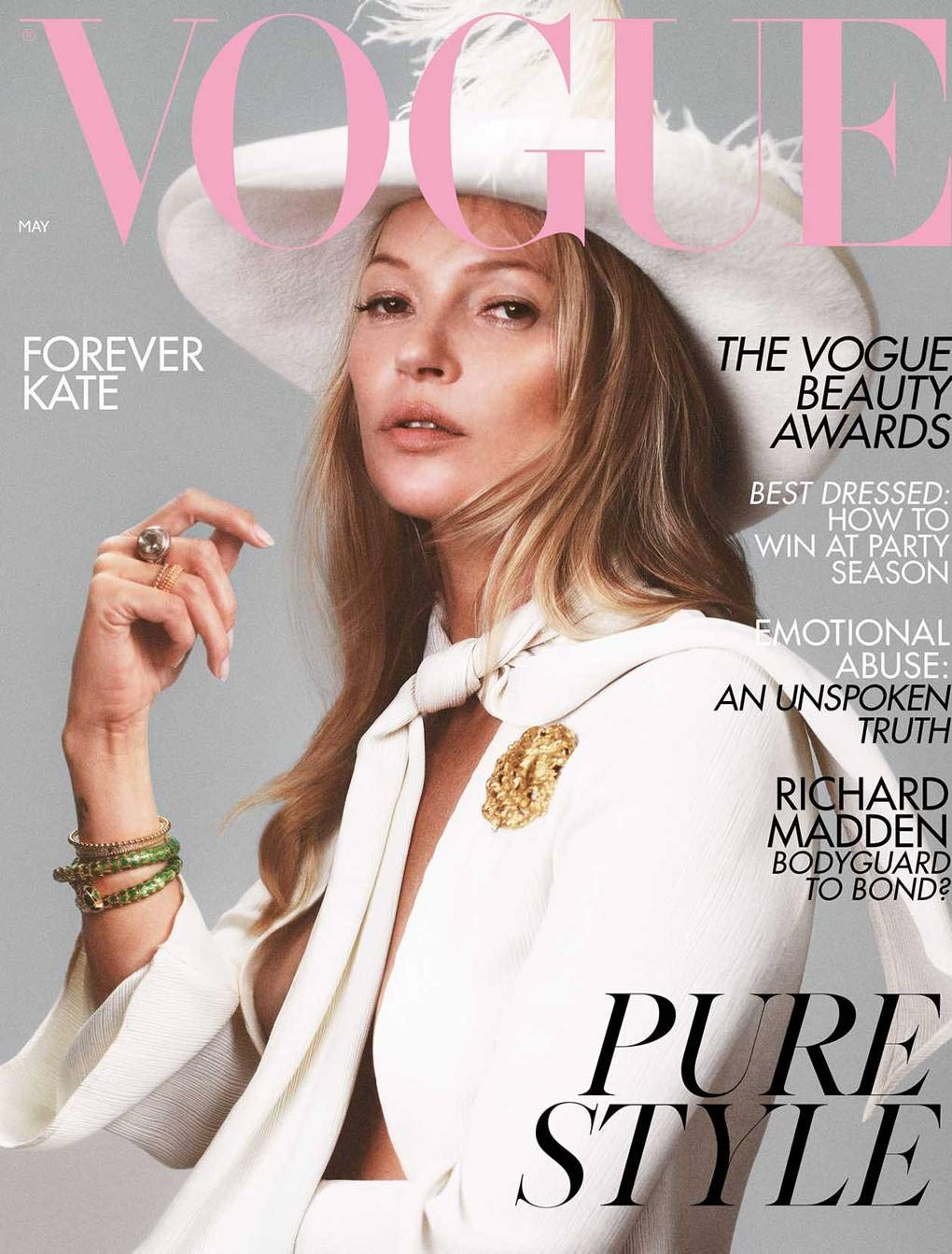 VOGUE UK (BRITISH) MAY 2019 KATE MOSS COVER-EXCLUSIVELY FROM