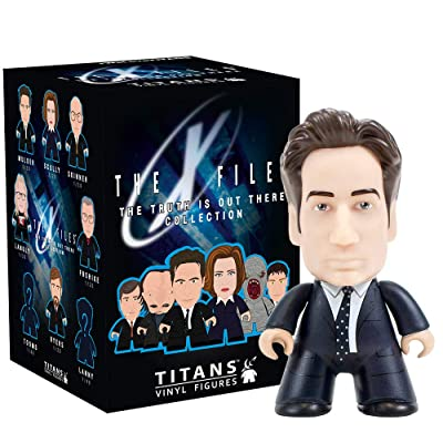 Titan Merchandise X-Files Titans The Truth is Out There Collection Mini-Figure: Toys & Games