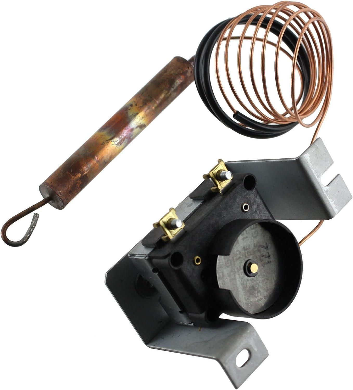CREDA STORAGE HEATER thermostat