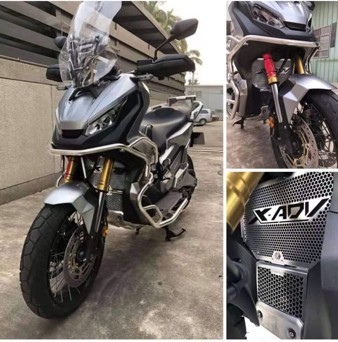 X ADV 750 Moto Alliage Daluminium Plaque de D/érapage Protection de Moteur pour X-ADV XADV X ADV 750 2017 2018