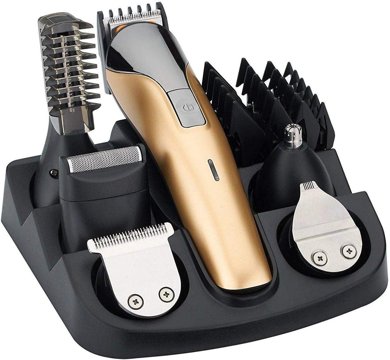 Recortadora eléctrica para barba, afeitadora para nariz, cortadora ...