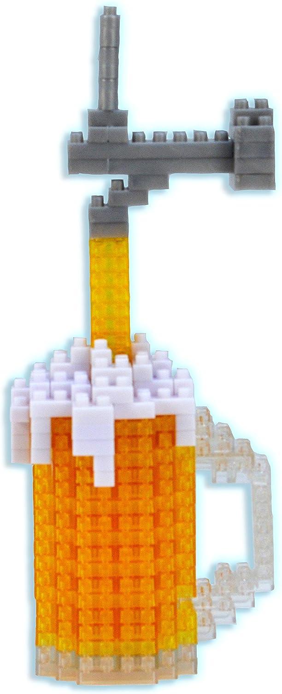 Bepuzzled 1407 3D Pixel Puzzle Microbrew, 200+ Pcs